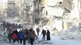 Aleppó: éjjel is folytatódott az evakuálás  – Idlib lehet a következő
