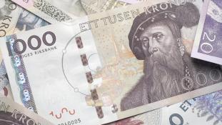 Búcsú a készpénztől Svédországban