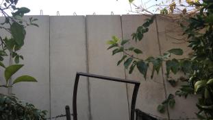 Falat épít a legnagyobb palesztin menekülttáboránál Libanon