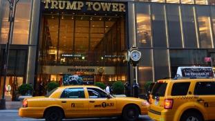 Napi egymillió dollárjába kerül New Yorknak Trump védelme