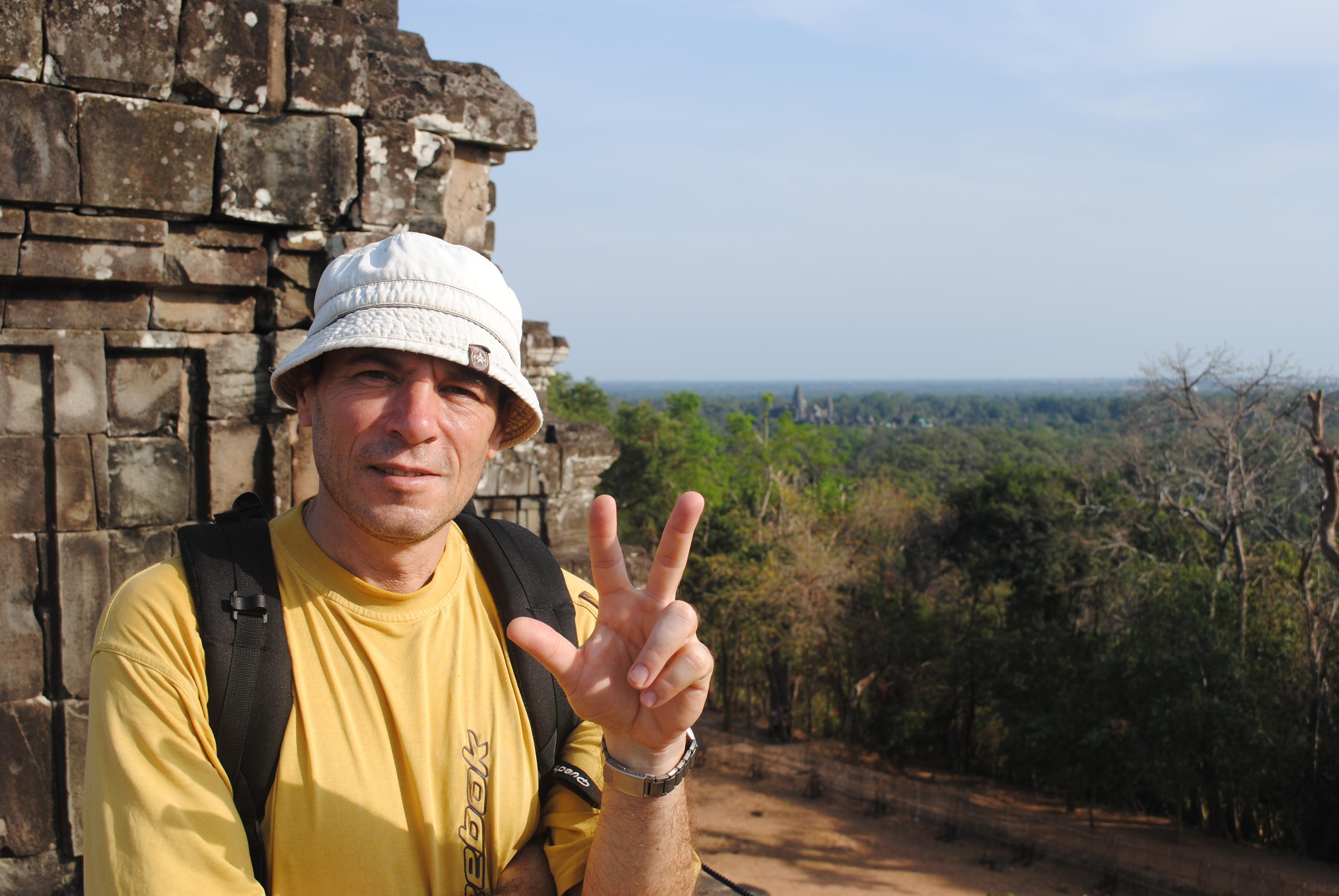 Balázs Géza háromszor járt Angkorban.