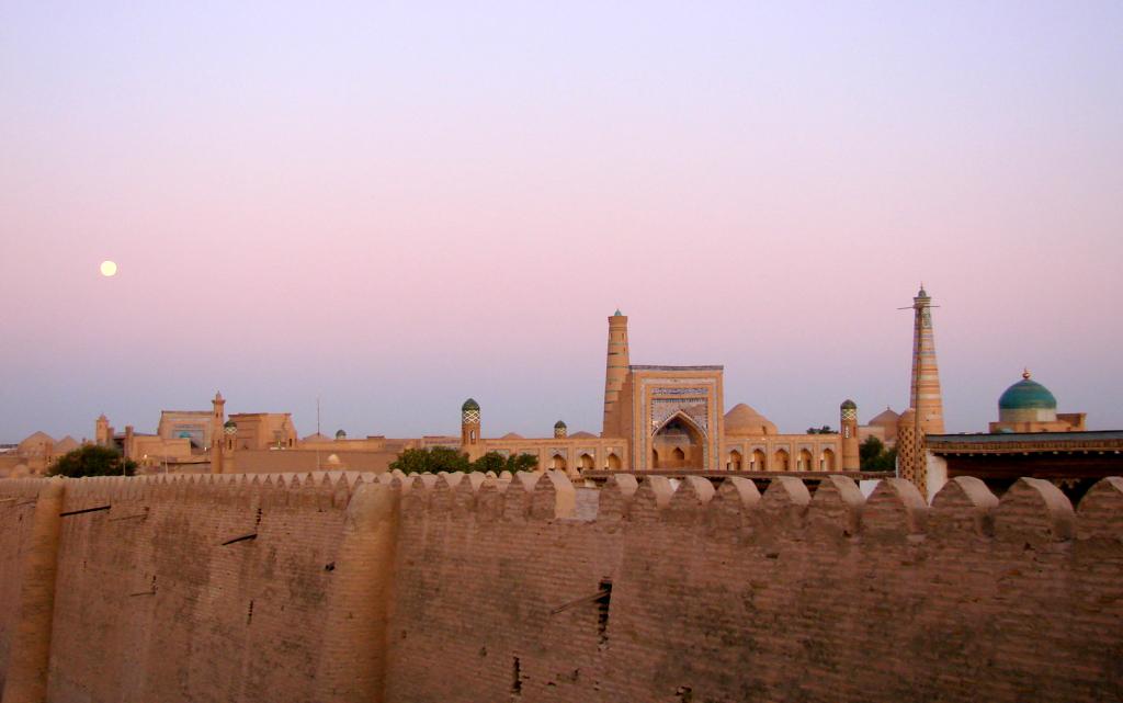 Agyagfalú erőd Hívában (Wikimedia Commons)