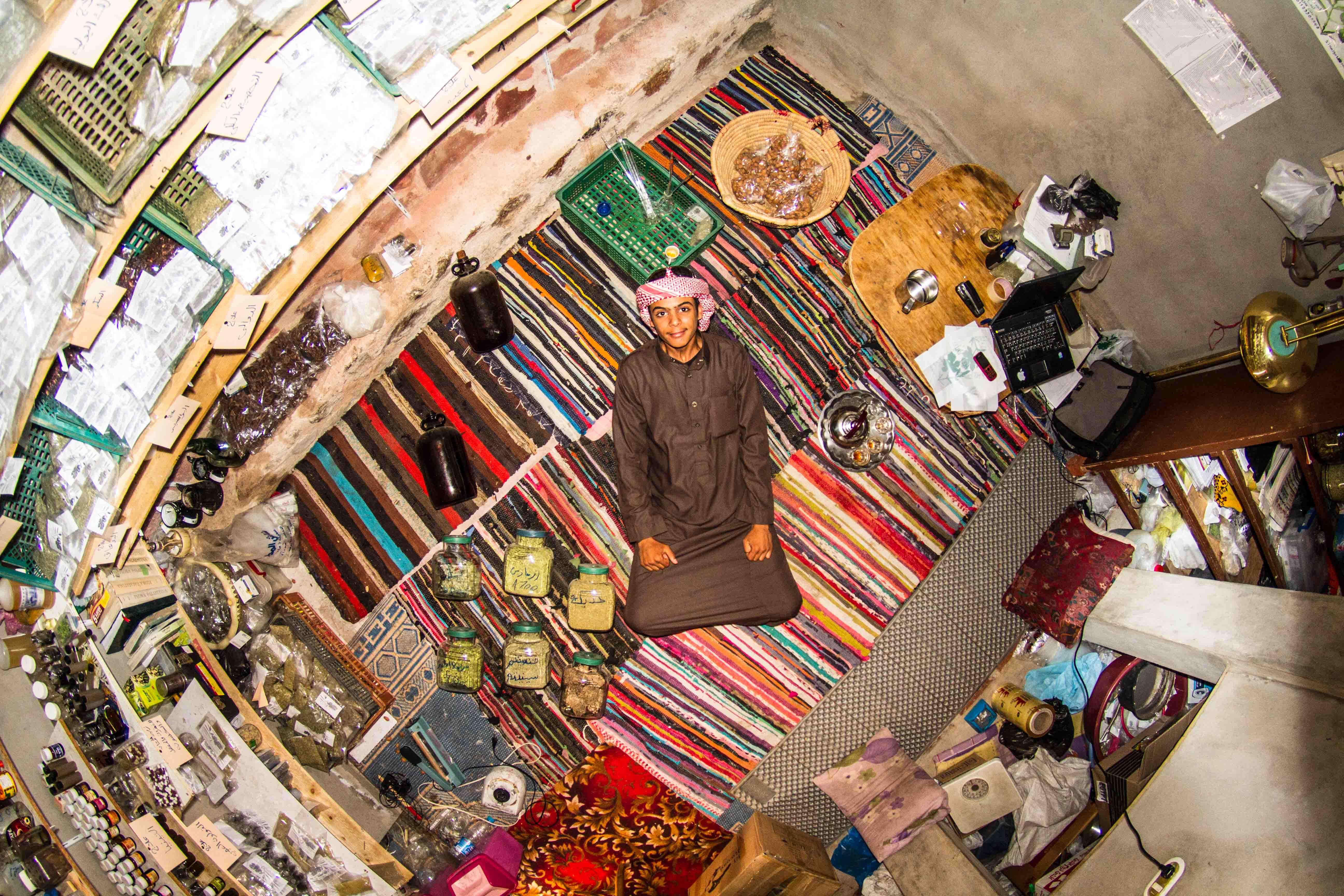 807. szoba, Mohamed, 18 éves, Saint Catherine, Egyiptom