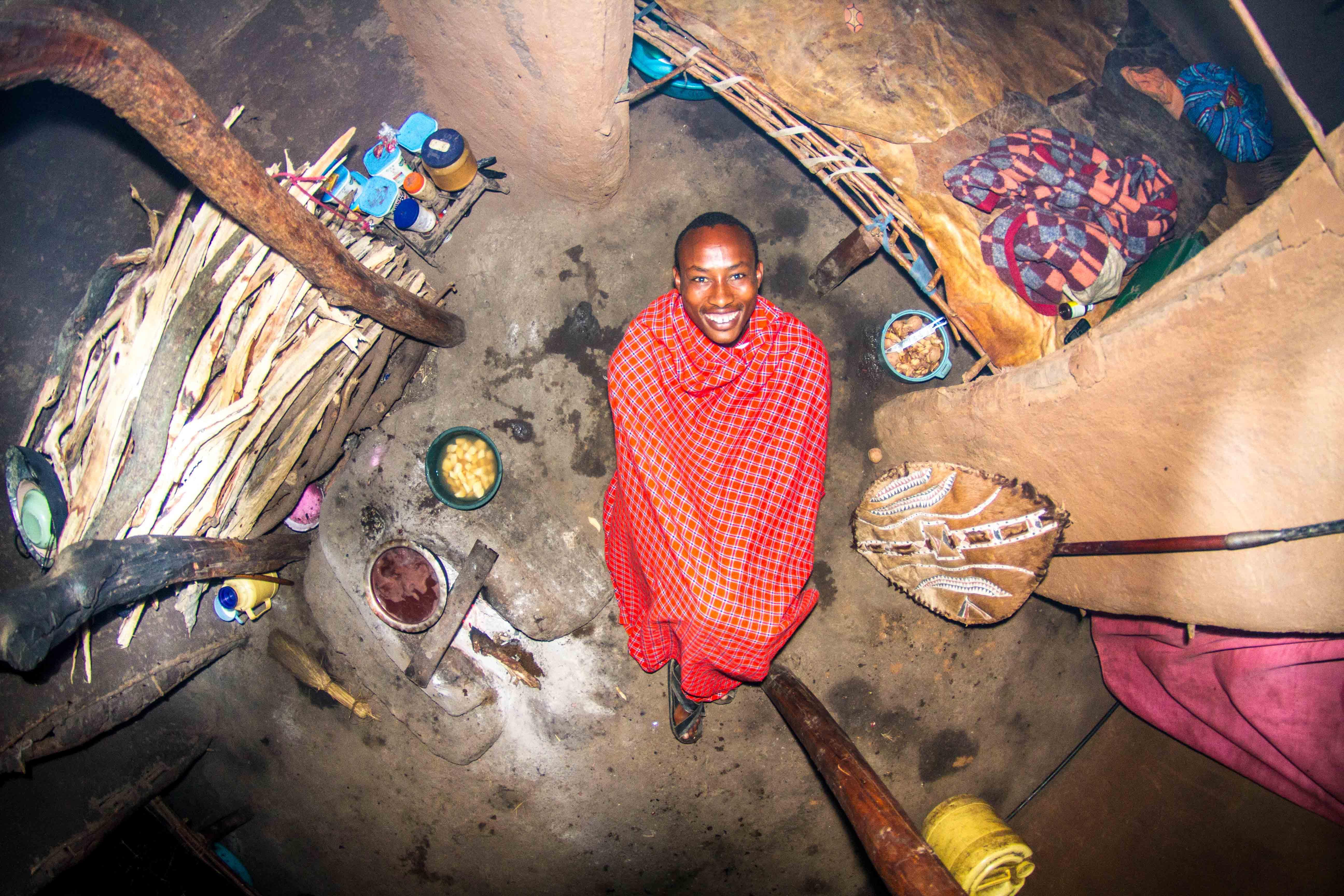 867. szoba, Ezekiel, 22 éves, Guerrier Echo Manyata, Kenya