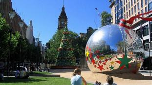 Van, ahol rénszarvas helyett kenguru húzza a Mikulást – különleges karácsonyok