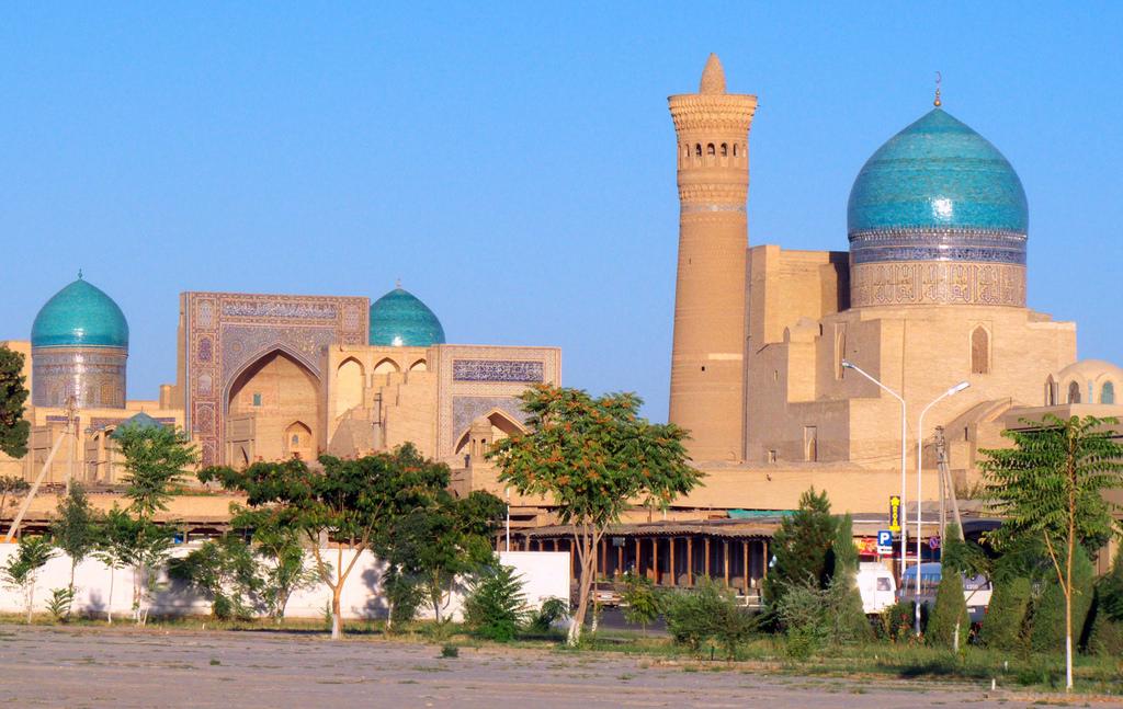 Poi Kalon vallási komplexum Buharában (Flickr)