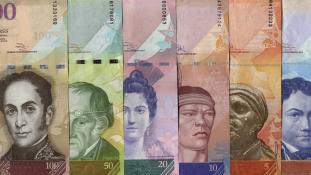 Rapid pénzcsere lesz Venezuelában is – 72 óra a határidő