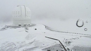 Így néz ki most a 90 centis hóval borított Hawaii