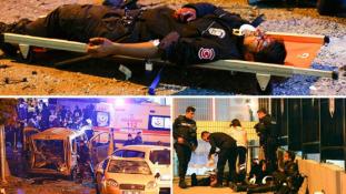 Kettős terrortámadás Isztambulban – 29 halott