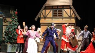 Koreai önkéntesek musicalben meséltek a karácsonyról