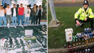 Ez a különbség az angol meg a mexikói rendőr mindennapjai között