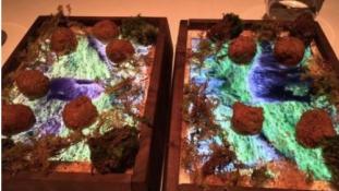 Tányér helyett iPad? Egy Michelin-csillagos étteremben: igen!