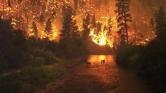 Tűzvész a pampán, 800 ezer hektár kiégett Argentínában – videó