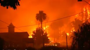 Már a városokat is elérte a pusztító tűzvész Chilében – videó