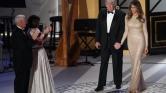 Libanoni tervező ruhájában volt Melania Trump a beiktatást követő gálavacsorán