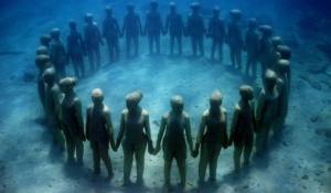 vízalatti múzeum kanári-szigetek
