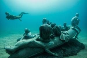vízalatti múzeum