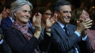 Visszalép a legesélyesebb francia elnökjelölt, ha vizsgálat indul a neje ellen