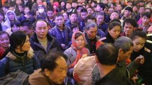 Csaknem 3 milliárd utassal számolnak Kínában a tavaszi fesztivál idején