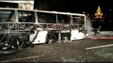 Magyar busz tragédiája Itáliában – 16 gyerek meghalt