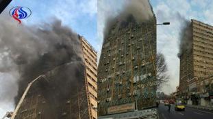 Pokoli torony Teheránban – 20 tűzoltó meghalt
