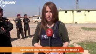 Élőben tudósított, aztán meghalt Moszulnál a fiatal kurd újságírónő