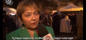 6 év után így búcsúzott Mexikó nagykövetasszonya