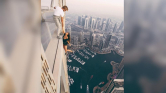 Beidézte a dubaji rendőrség az orosz modellt azért, amit a felhőkarcolón csinált