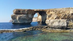Elnyelte a tenger az Azúr ablakot Máltán