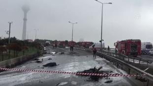 Helikopter-baleset Isztambulban: négy orosz üzletember az áldozatok között