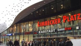 Terrorfenyegetés miatt zárva marad a nagy bevásárlóközpont Essenben