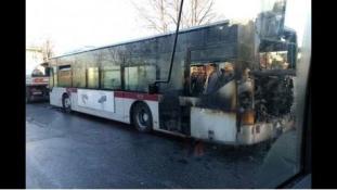 Már a negyedik busz égett ki Rómában ebben a hónapban