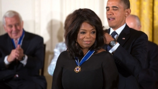 Oprah fontolgatja, hogy 2020-ban indul az elnökségért