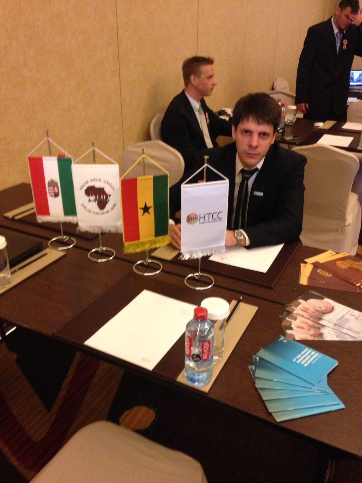 Orosz Péter, a HTCC marketing-igazgatója.