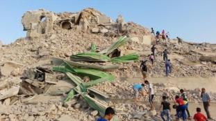 Titkos kincses alagutak Jónás próféta sírja alatt