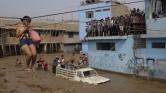 El Niño-hatás: özönvíz a 10 milliós Limában – videó