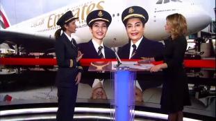 Soha nem volt akadály, hogy nő vagyok – íme, az Emirates legfiatalabb pilótanője