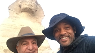 Will Smith imádja a piramisokat