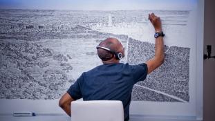 Elképesztő: egész városokat rajzol meg emlékezetből egy autista művész