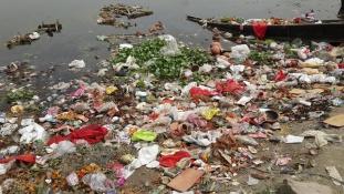 Ezt tette a környezettel a spirituális fesztivál Indiában