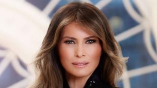 Íme az új first lady első portréja a Fehér Házból