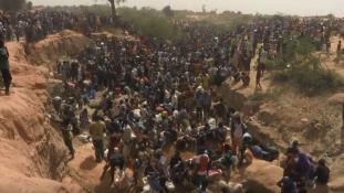 Aranyláz Nigerben – videó