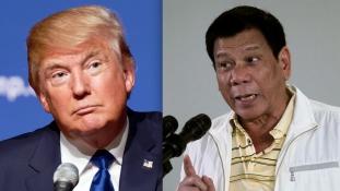 Donald Trump meghívta magához Rodrigo Dutertét