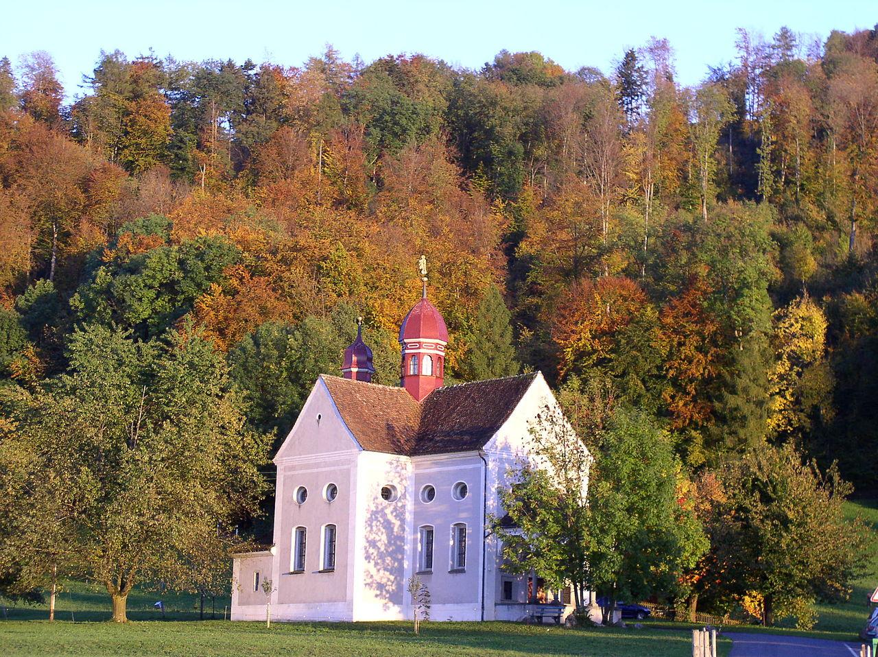 A Szent Verena kápolna Zugban (Svájc)