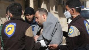 Vegyi támadás Szíriában? – több mint félszáz halott