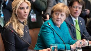 Női diplomácia: Ivanka Trump Berlinben