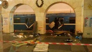 Trump üzenete Putyinnak a metrómerénylet után