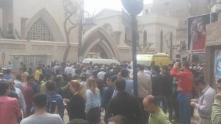 Virágvasárnapi támadások keresztények ellen Egyiptomban – sok halott