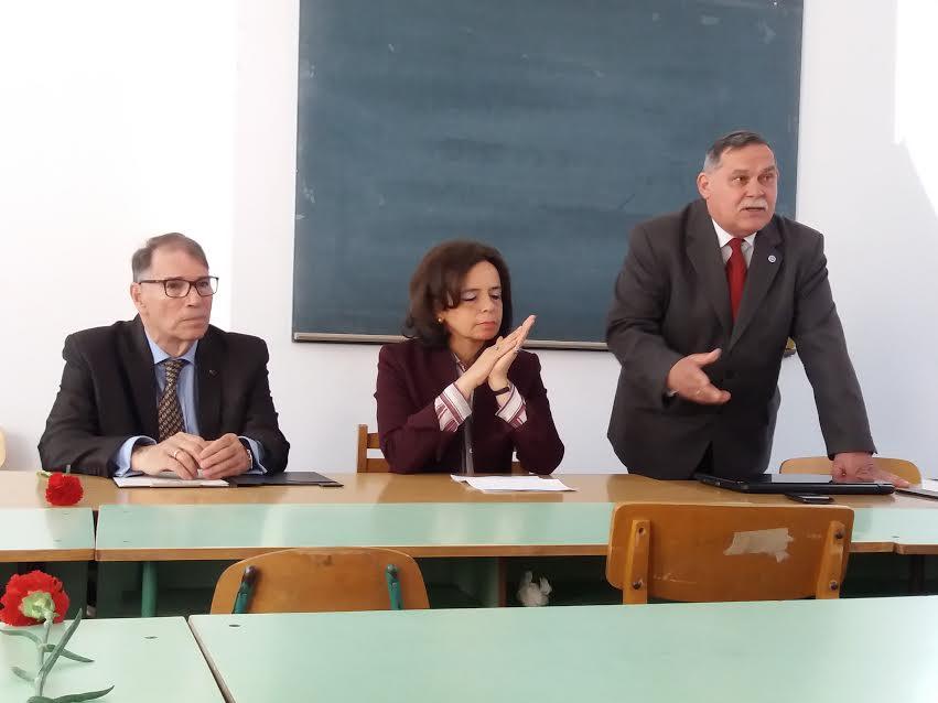 Gulyás András, Maria José Teixeira de Morais Pires és dr. Rákóczi István.