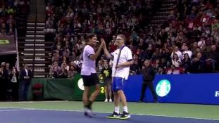 Afrikáért teniszezett Bill Gates és Roger Federer